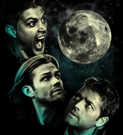 The Mountain Team Free Will Moon - Supernatural Edition - Sticker Sticker