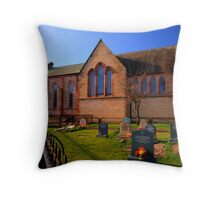 St Peter's Church Fleetwood Throw Pillow