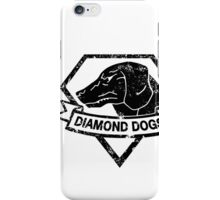 Diamond (Black) iPhone Case/Skin