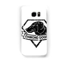 Diamond (Black) Samsung Galaxy Case/Skin