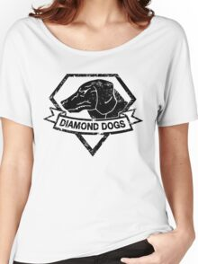 Diamond (Black) Women's Relaxed Fit T-Shirt