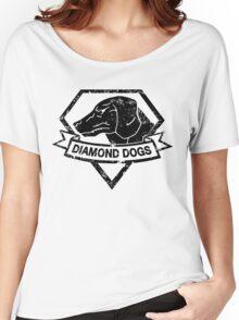Diamond (Black) Women's Relaxed Fit T-Shirt