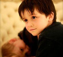 My handsome boy by Sonia de Macedo-Stewart