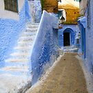 A street in Chefchaouen II by Jamie Alexander