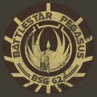 Battlestar Pegasus by John Ossoway