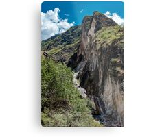 Leaping Tiger Offshoot Metal Print