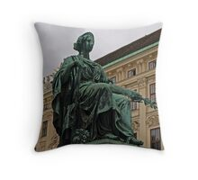 It's Not Easy Being Green. Throw Pillow