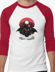 How To Catch Your Dragon Men's Baseball ¾ T-Shirt