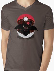 How To Catch Your Dragon Mens V-Neck T-Shirt