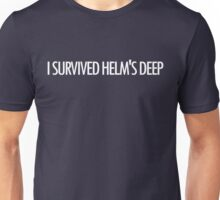 I Survived Helm's Deep Unisex T-Shirt