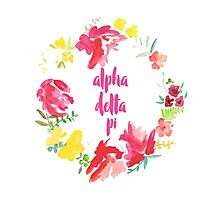 ADPi Floral Photographic Print