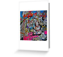 Graffiti #14 Greeting Card