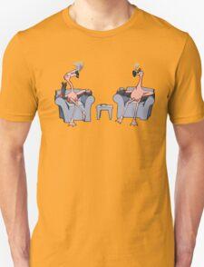 Boston Legal Flamingos  Unisex T-Shirt