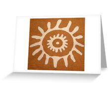 Rural design Print  Greeting Card