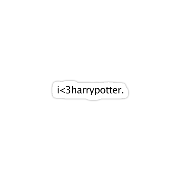 i love harry potter by loveaj