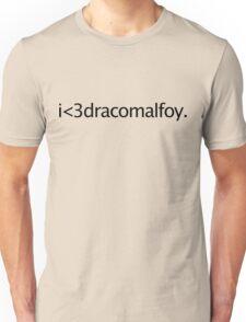i <3 draco malfoy Unisex T-Shirt