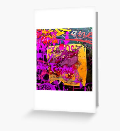 Graffiti #20 Greeting Card