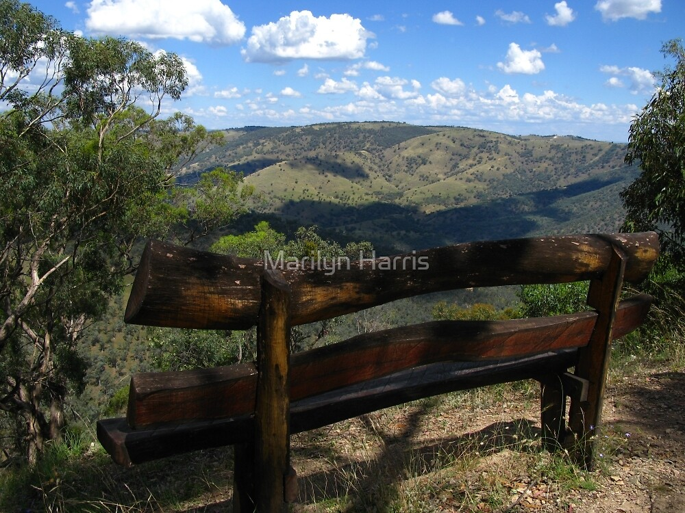 Merlin's Lookout - Hill End by Marilyn Harris