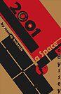 Bauhaus Poster  by C Rodriguez