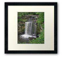 Minneopa Falls Framed Print