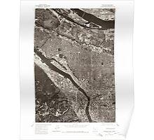 USGS Topo Map Oregon Portland 281135 1975 24000 Poster