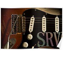 SRV Strat Poster