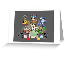 Retro World Greeting Card