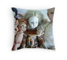 Karin Kalabra's 'Dolly' Throw Pillow