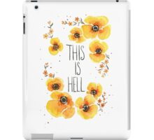 This is Hell iPad Case/Skin