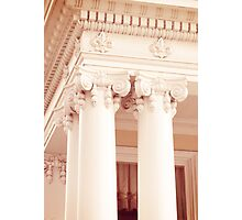 Columns of the Garden District, New Orleans, Louisiana Photographic Print