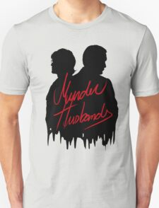 Murder Husbands [Black/Red] Unisex T-Shirt