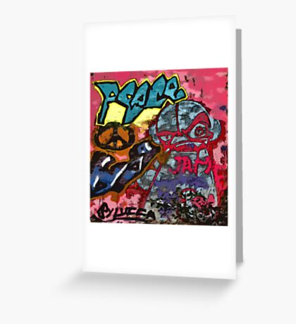Graffiti #33 Greeting Card