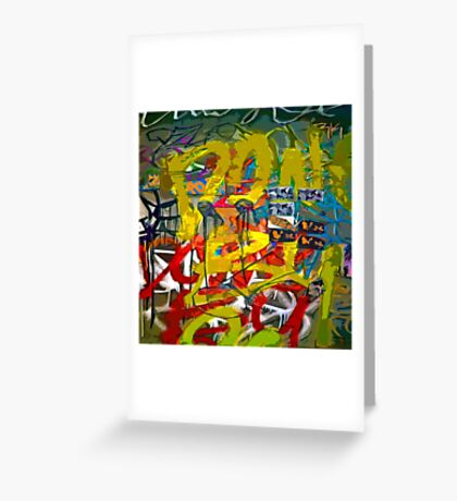 Graffiti #34 Greeting Card
