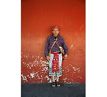 Traditional dress Photographic Print