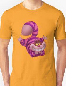 Cheshire the cheeky cat Unisex T-Shirt
