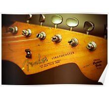 Stratocaster Head Poster