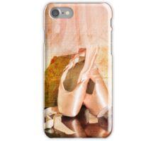 On Pointe, Ballet still life iPhone Case/Skin