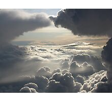 Heavenly Clouds Photographic Print