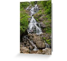 Todtnau Waterfalls Greeting Card