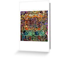 Graffiti #38 Greeting Card