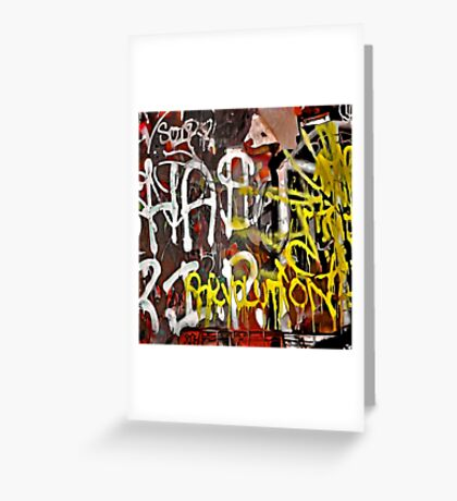 Graffiti #39 Greeting Card