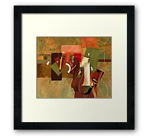 """Bits and Pieces"" Framed Print"