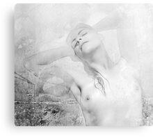 She Dreams Canvas Print