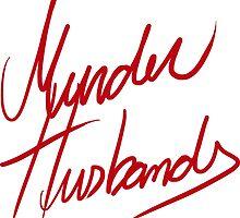Murder Husbands [Text] by tirmedesign