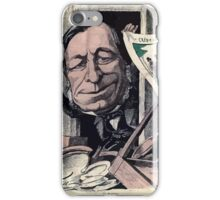 André Gill Jules Mirès iPhone Case/Skin
