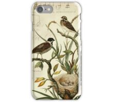 Vintage Bird and Music Notes Iphone Case iPhone Case/Skin