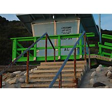 Abalone Cove Lifeguard Tower Photographic Print