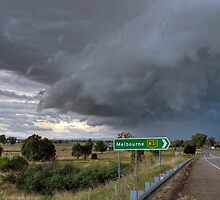 Hume Hwy Storm by Lucas D'Arcy