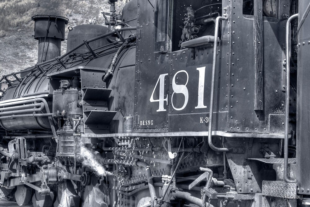 Engine 481 by rjcolby