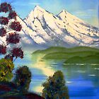 Snowy Mountains in Summer by Beverley  Johnston